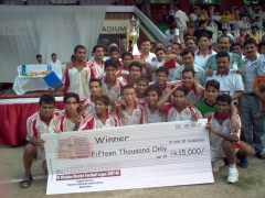 2007 First Division League Champions, Akranta Club, Dehradun Football
