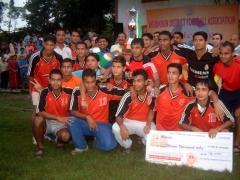 Uttarakhand Police winner of A-Division Football League 2008