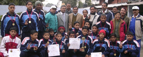 Uttaranchal Boys are National School Champions