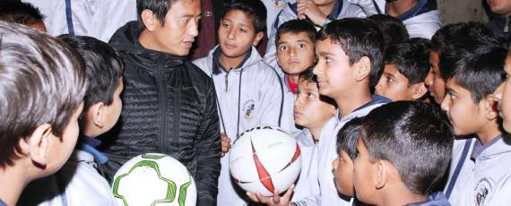 Baichung Bhutia to open football school in Doon